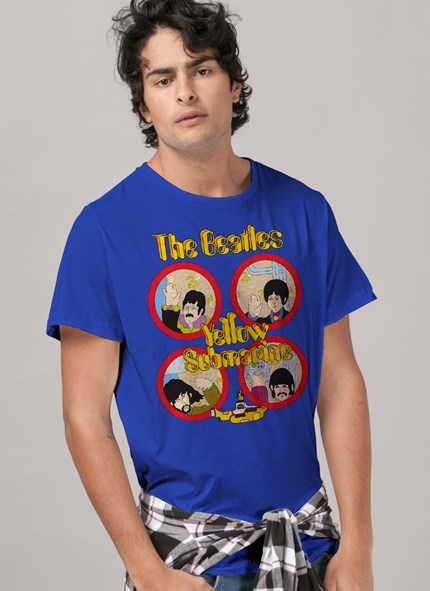 Camiseta The Beatles Yellow Submarine Original