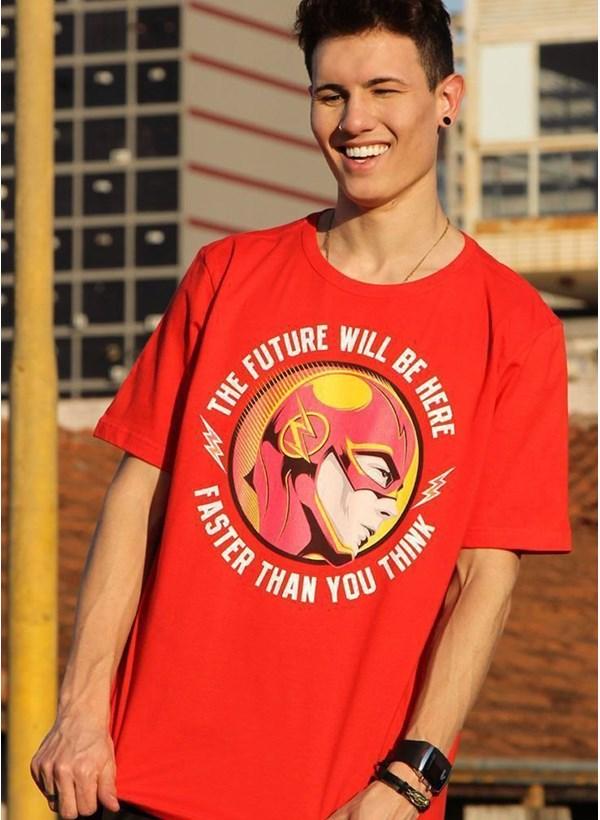 Camiseta The Flash Futuro