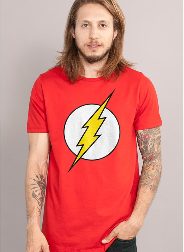 Camiseta The Flash Logo