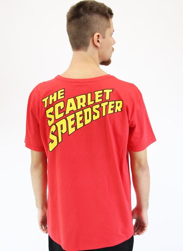 Camiseta The Flash Scarlet Speedster