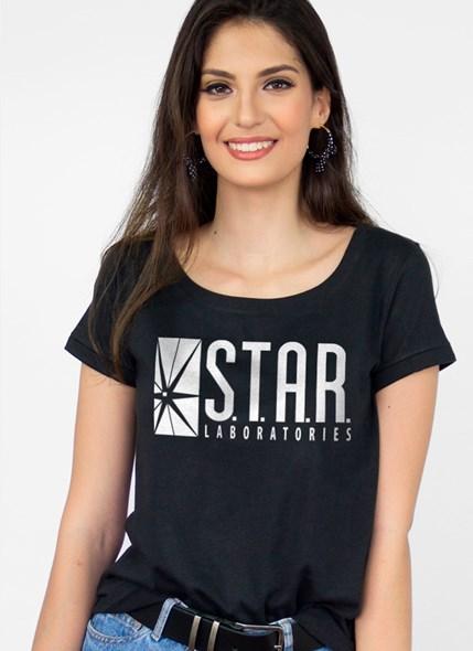 Camiseta The Flash Serie STAR Laboratories