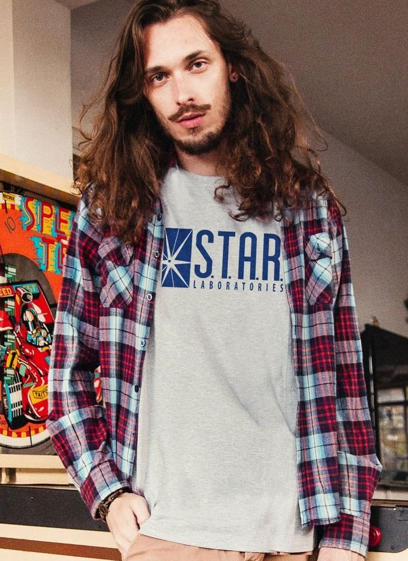 Camiseta The Flash STAR Laboratories
