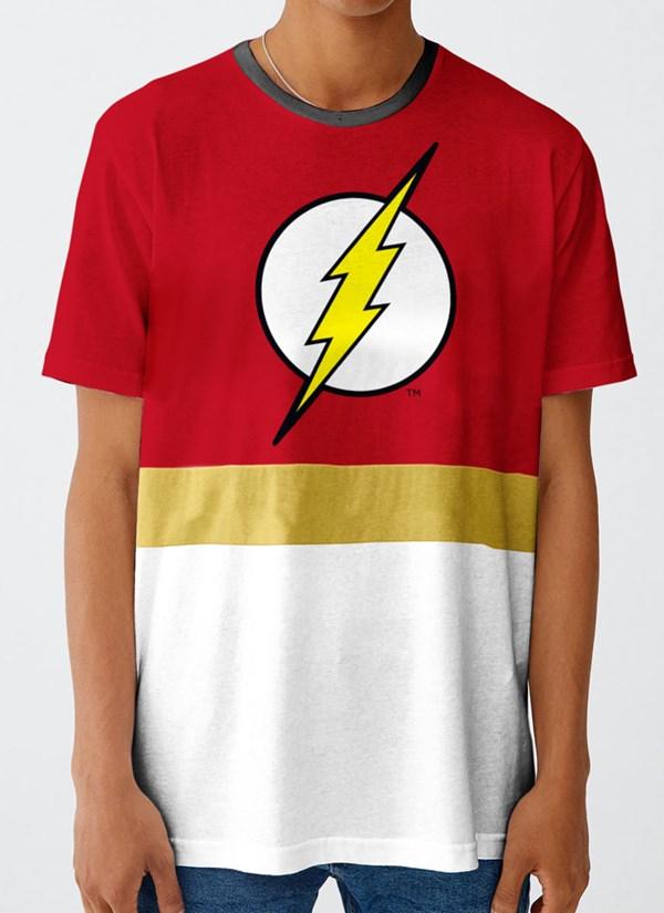 Camiseta The Flash Stripe