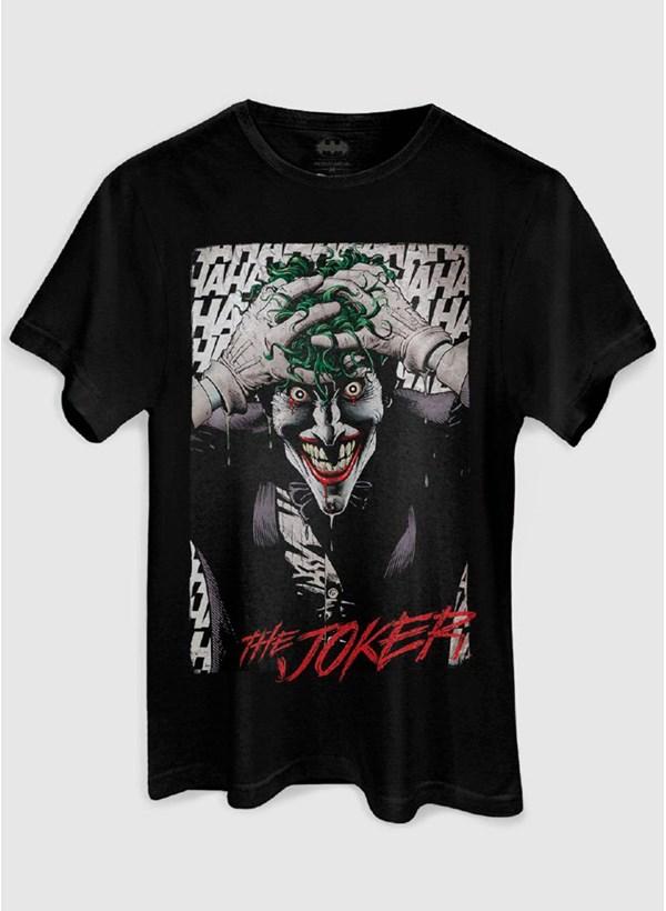 Camiseta The Joker A Piada Mortal Black