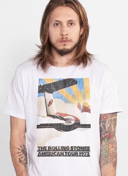 Camiseta The Rolling Stones American Tour