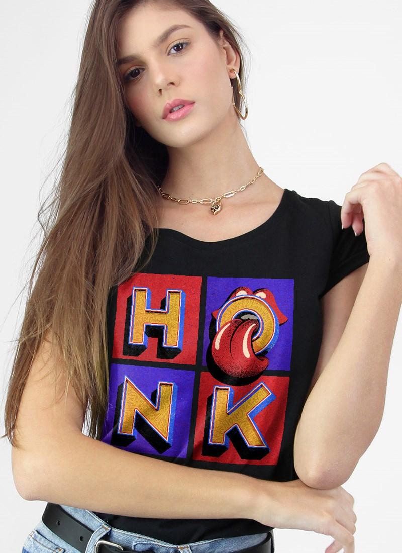 Camiseta The Rolling Stones Coletânea Honk Capa