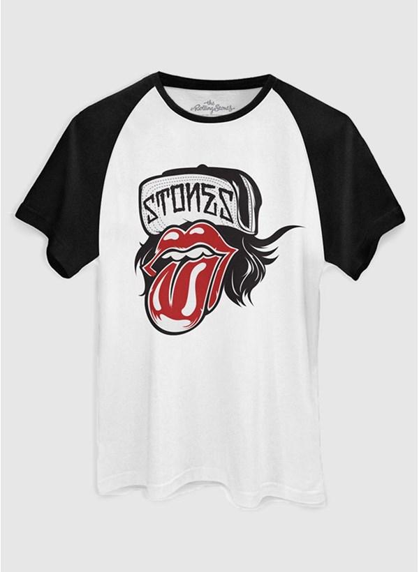 Camiseta The Rolling Stones Logo Cap