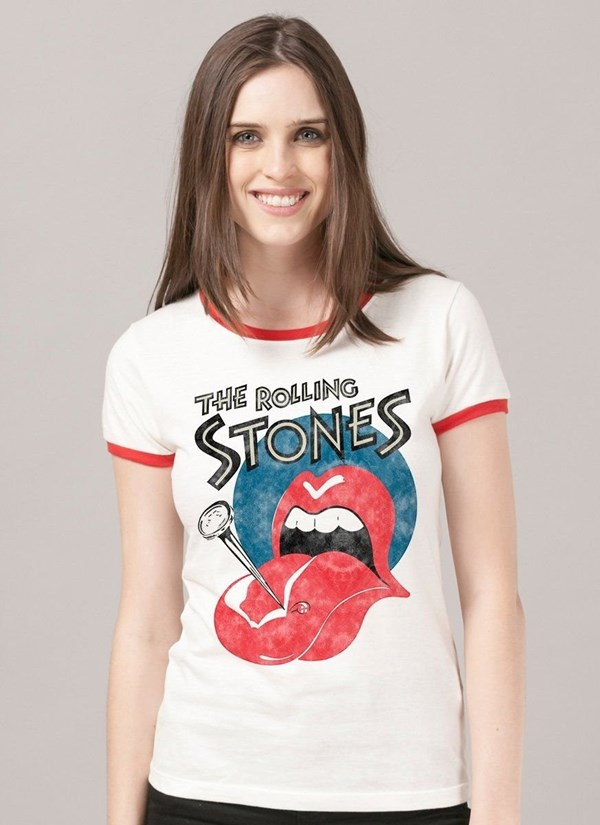 Camiseta The Rolling Stones Nailed Tongue