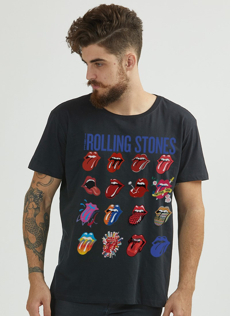 Camiseta The Rolling Stones Tongues