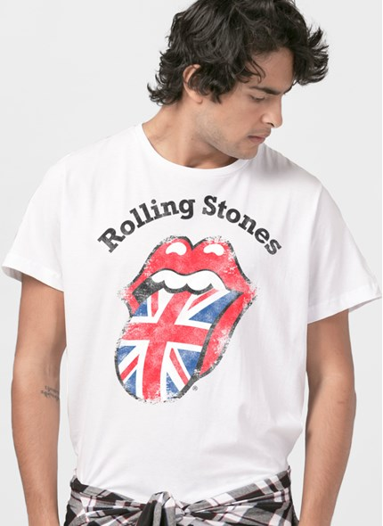 Camiseta The Rolling Stones UK Flag