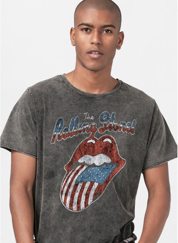 Camiseta The Rolling Stones USA Flag