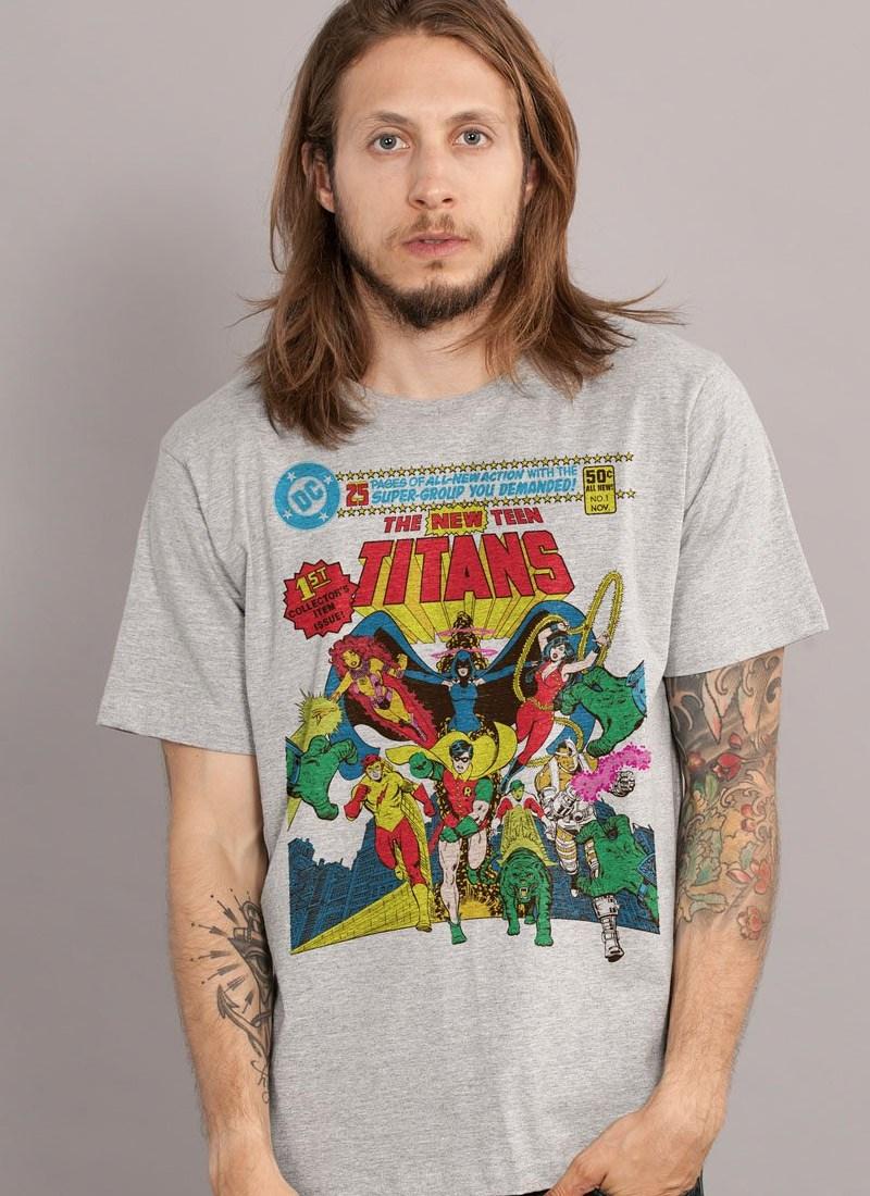 Camiseta The Teen Titans