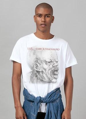 Camiseta Titãs Cabeça Dinossauro