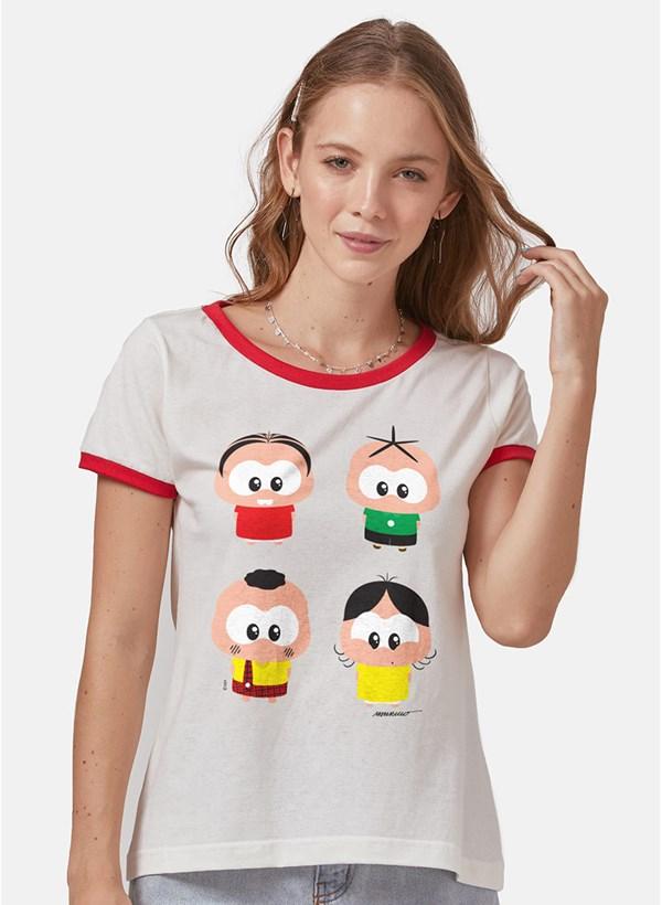 Camiseta Turma da Mônica A Turma Toy