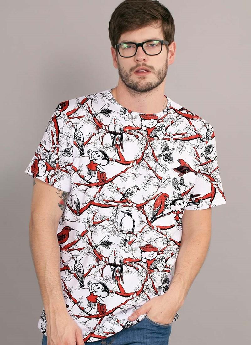 Camiseta Turma da Mônica Chico Bento Full