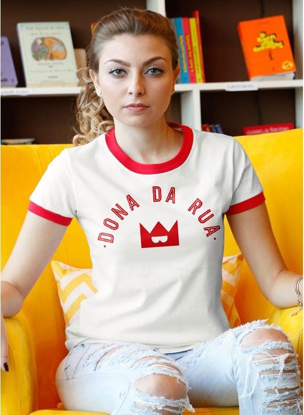 Camiseta Turma da Mônica Dona da Rua