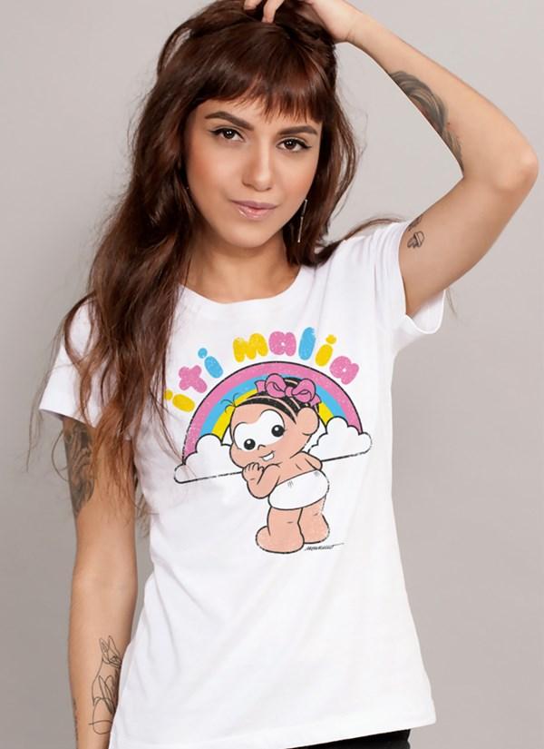 Camiseta Turma da Mônica Iti Malia