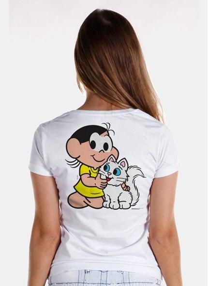 Camiseta Turma da Mônica Kids Olhões Mingau