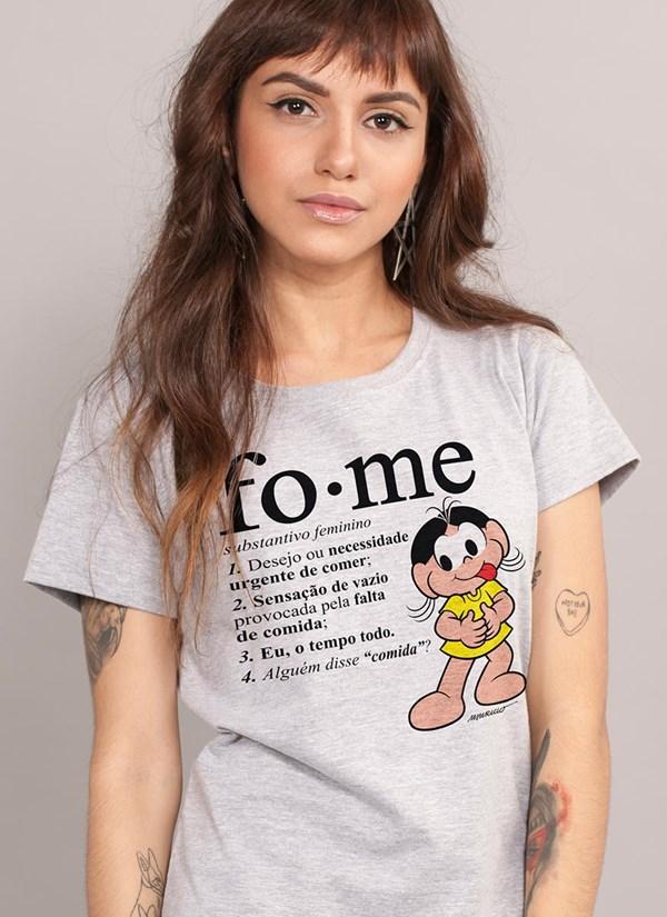 Camiseta Turma da Mônica Magali Fome
