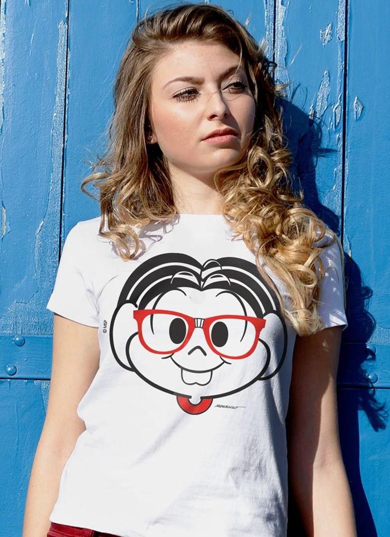 Camiseta Turma da Mônica Nerd