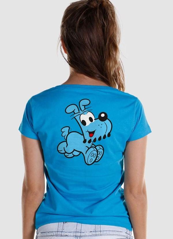 Camiseta Turma Da Mônica Olhões Bidu