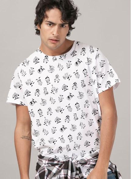 Camiseta Turma da Mônica Personagens