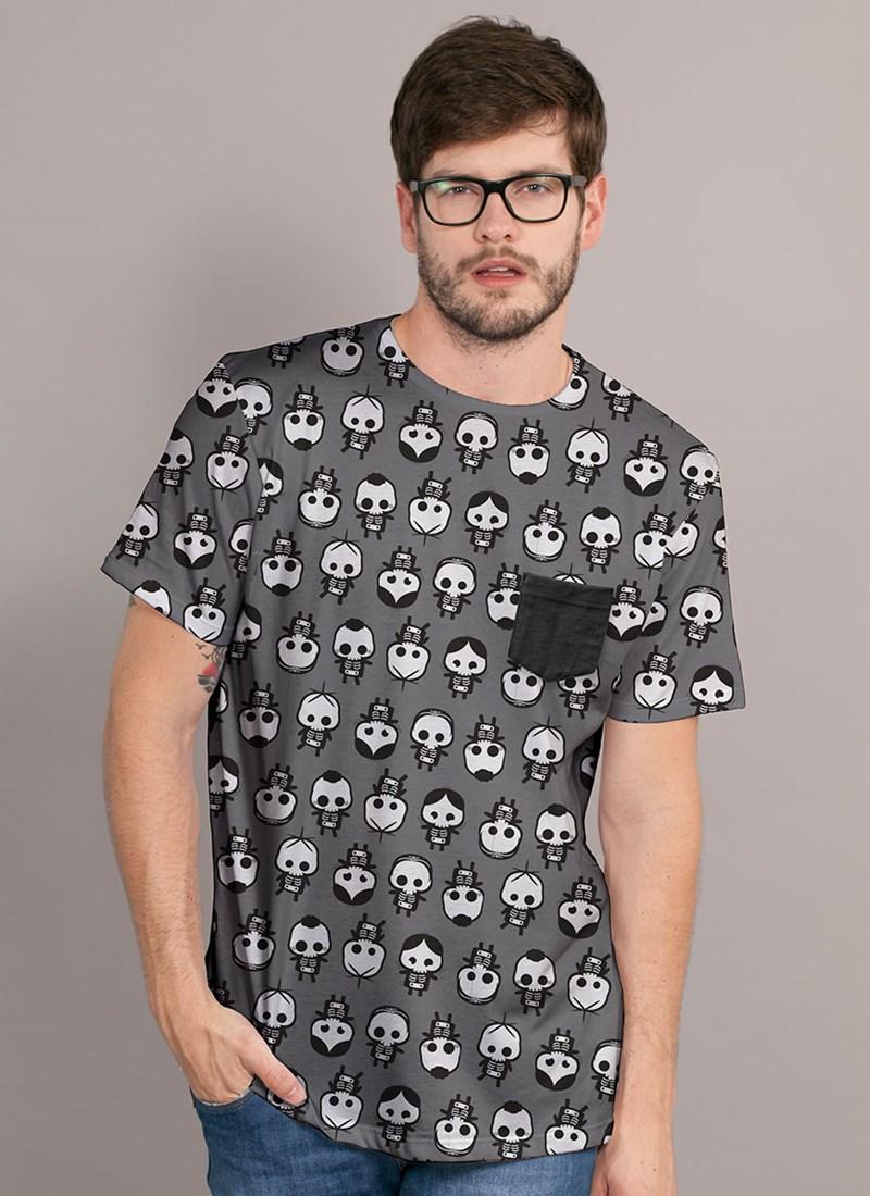 Camiseta Turma da Mônica Raio X