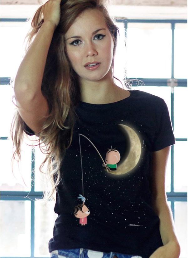 Camiseta Turma da Mônica Toy Lua