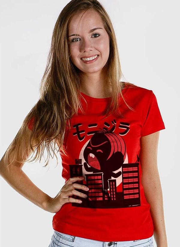 Camiseta Turma da Mônica Toy Monizilla