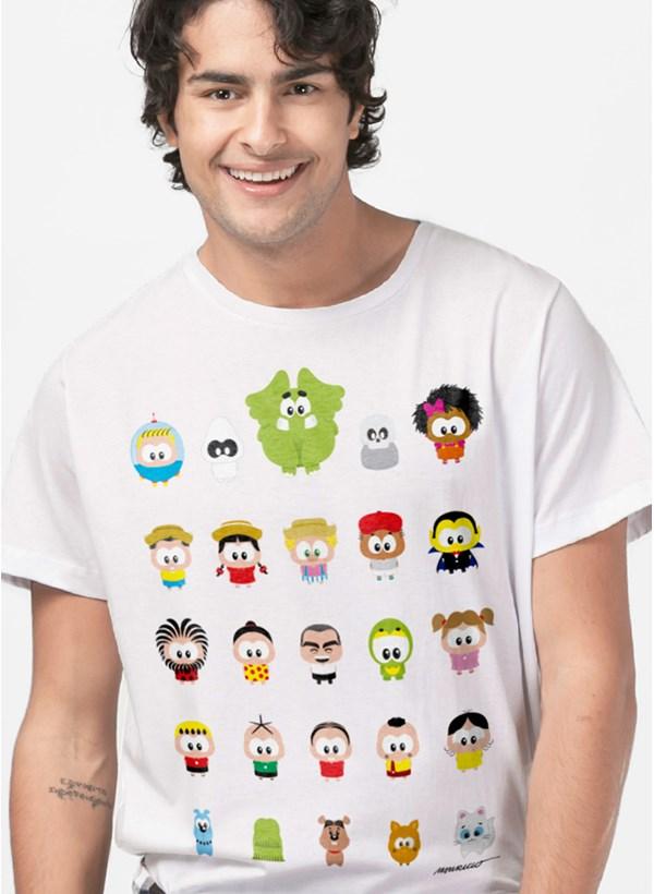 Camiseta Turma da Mônica Toy Todos