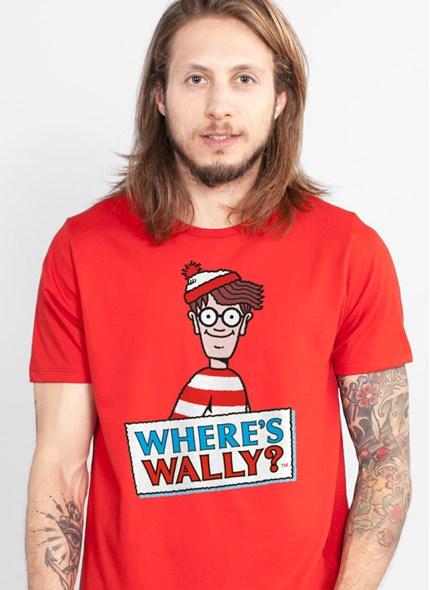 Camiseta Wally Where's Wally?