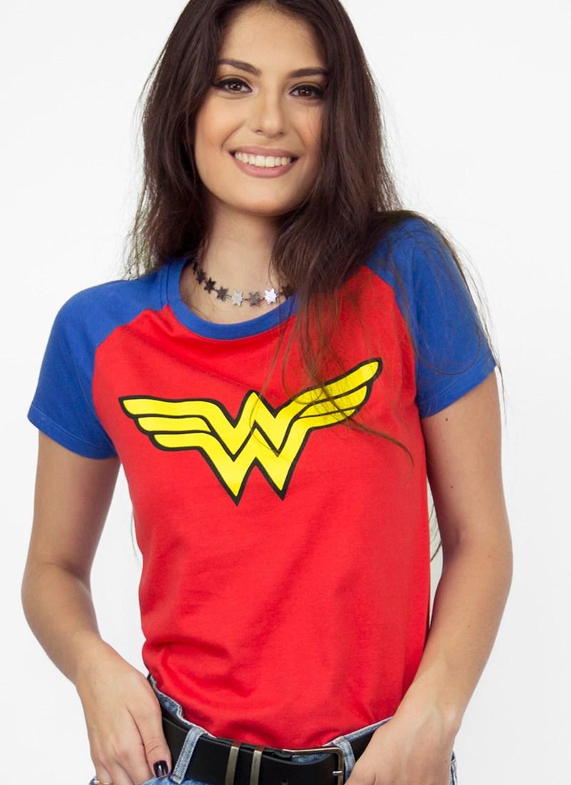 ca1005436a Camiseta Wonder Woman Logo Oficial Comprar Agora bandUP! Store