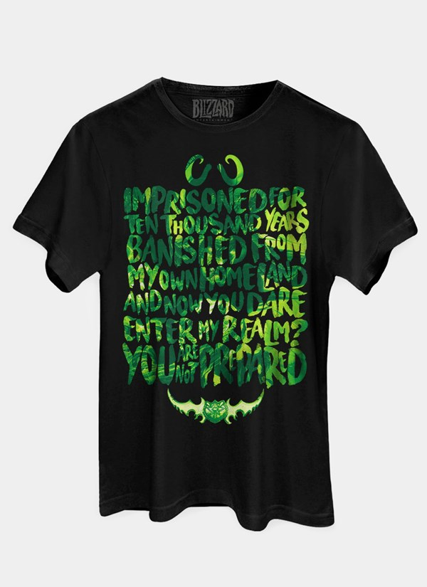 Camiseta World of Warcraft You Are Not Prepared