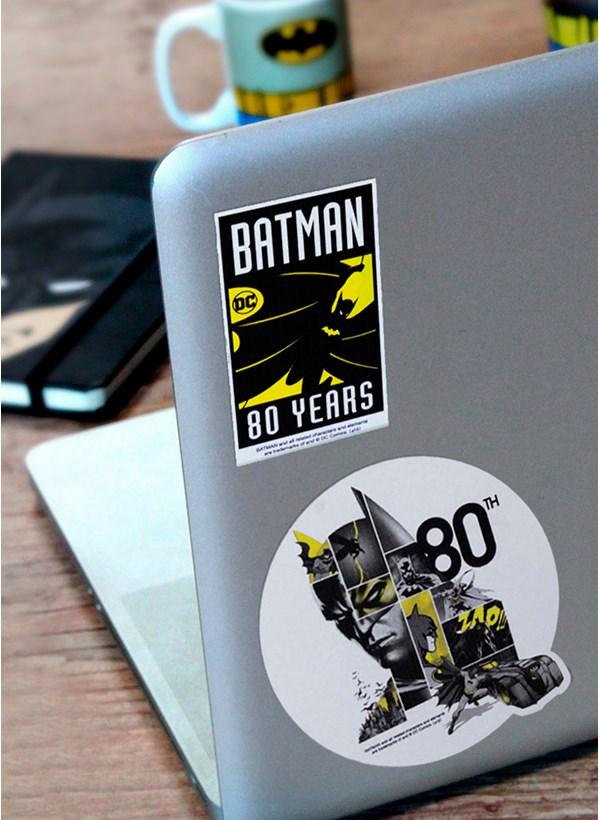 Caneca Batman 80 Anos HQ