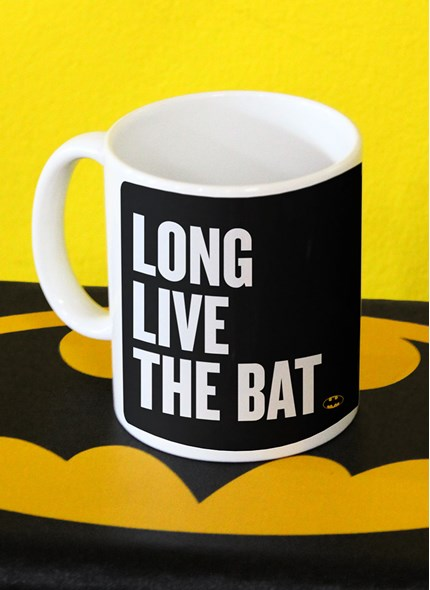 Caneca Batman 80 Anos Long Live The Bat