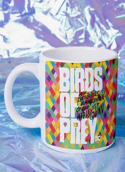 Caneca Birds of Prey Harley Quinn Logo - Aves de Rapina