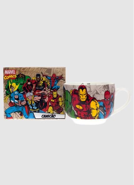 Caneca de Sopa Marvel Heróis