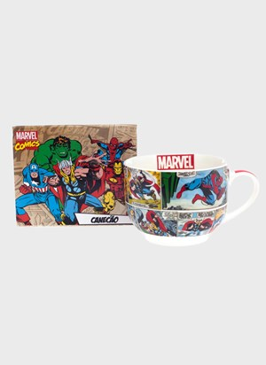 Caneca de Sopa Marvel HQ Colors
