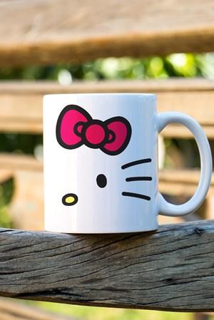 Caneca Hello Kitty White