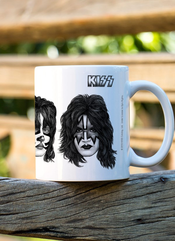 Caneca Kiss Faces