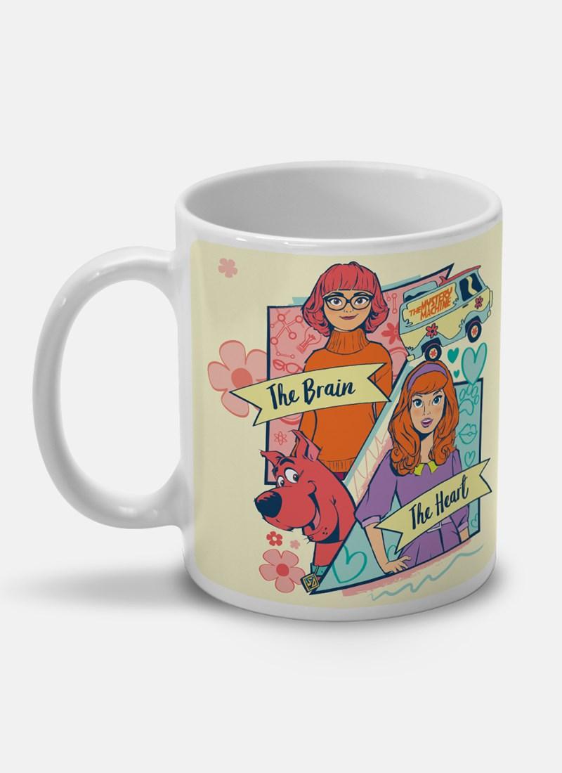 Caneca Scooby! Velma e Daphne Girls