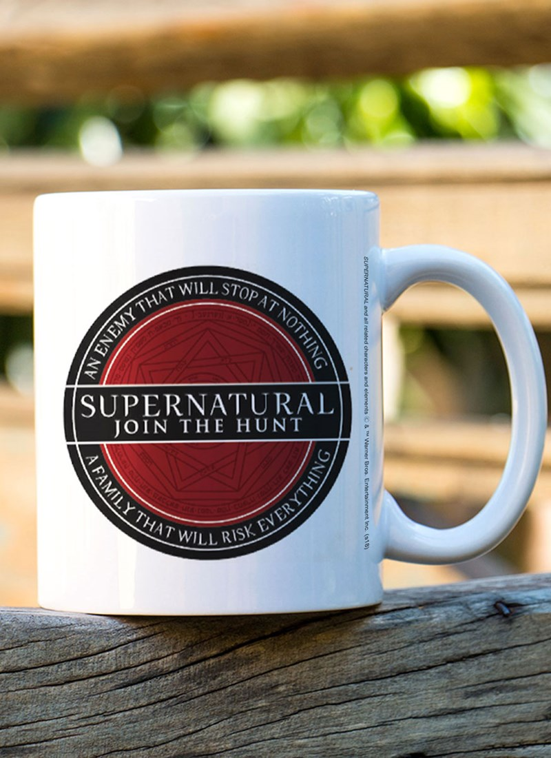 Caneca Supernatural Join The Hunt