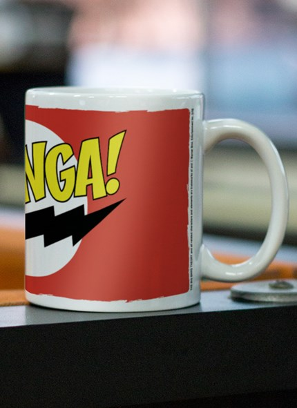 Caneca The Big Bang Theory Bazinga Clássica