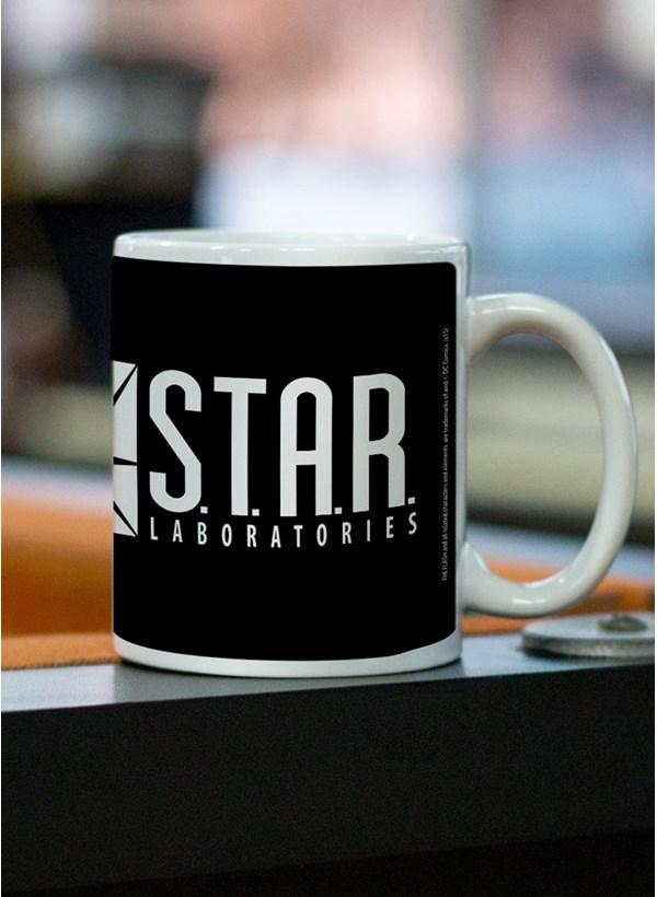 Caneca The Flash Serie STAR Laboratories