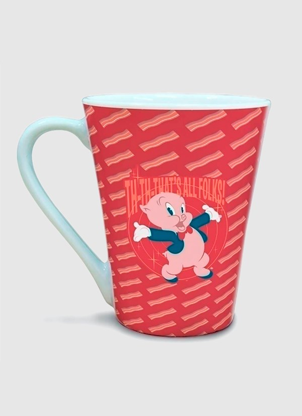 Caneca Tulipa Looney Tunes Gaguinho That´s All Folks