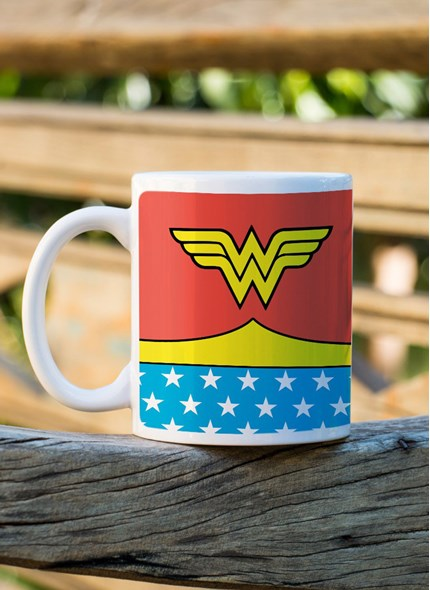 Caneca Wonder Woman Costume