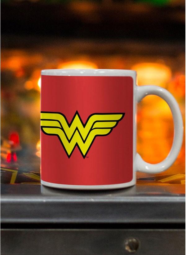 Caneca Wonder Woman Power Girls