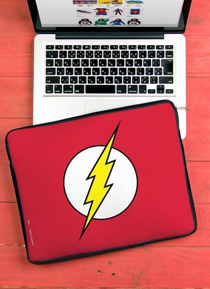 Capa de Notebook The Flash Logo