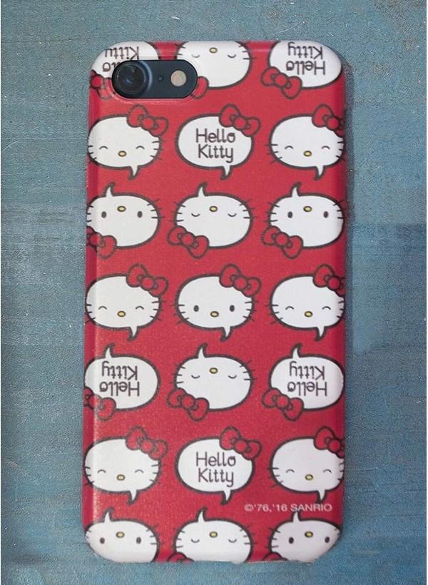 Capa para iPhone 7 Hello Kitty Talk Balloon