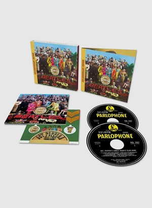 CD Duplo The Beatles Sgt. Pepper's Lonely Hearts Club Band Anniversary Edition